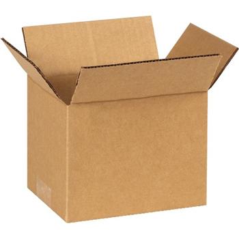 """W.B. Mason Co. Corrugated boxes, 7"""" x 5"""" x 5"""", Kraft, 25/BD"""