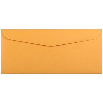 """JAM Paper® #12 Manila Envelopes, 4 3/4"""" x 11"""", Brown Kraft Manila, 100/PK"""