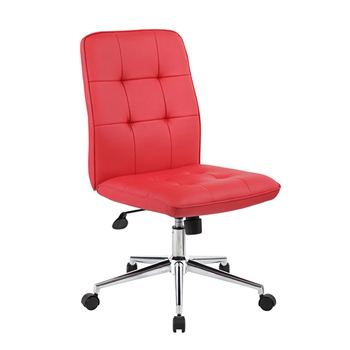 WhattaBargain B330 Task Chair, Red