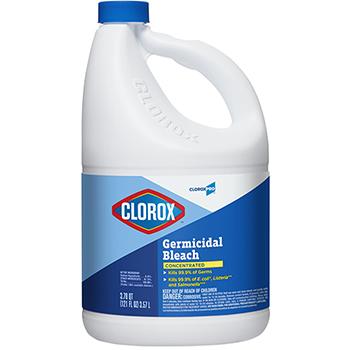 Germicidal Bleach, Concentrated, 121 oz Bottle