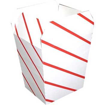 Dixie® Red Stripe Medium Scoop Style Box, 1000/CT
