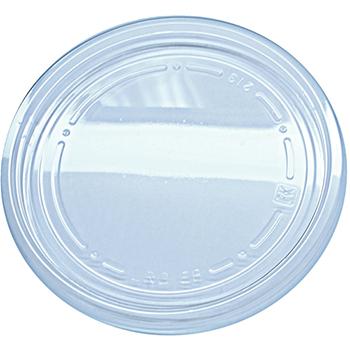 "Fabri-Kal® Alur Deli Container Lid, Clear, 4.7"" x 0.4"", 500/CS"
