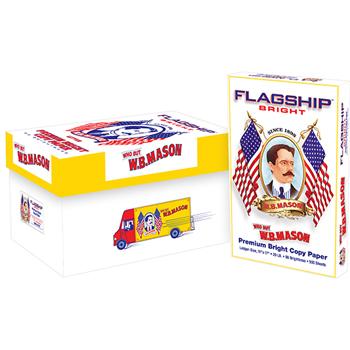 Premium Bright Copy Paper, Extra Bright, 20 lb., 11 x 17, White, 2500/CT