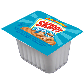 Skippy® Peanut Butter, Single-Serve Packs, 0.75 oz., 100/CS