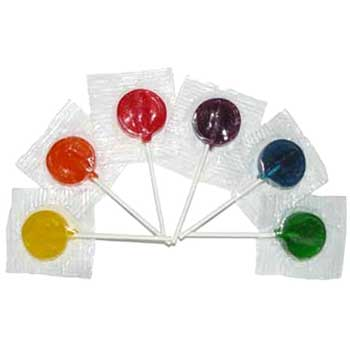 W.B. Mason Co. Beauty Lollipops, Assorted, 19 lb.