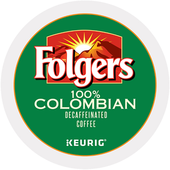 Folgers® Gourmet Selections Lively Colombian Coffee K-Cups, Decaf, 24/Box
