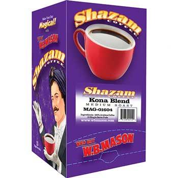 Shazam™ Coffee Pods, Kona Blend, Medium, 15/BX