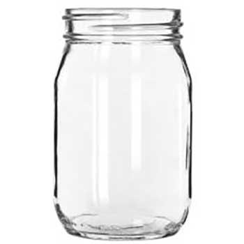 Libbey C-Drinking Jars 16oz, 12/CT
