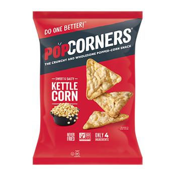 Kettle Popped-Corn Chips, 1.0 oz., 40/CS
