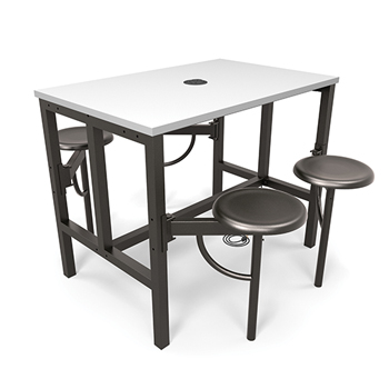 """Endure Series Standing Height Tables, 31 1/4""""w x 48""""d x 38""""h"""