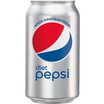 Diet Cola, 12 oz. Can, 12/PK
