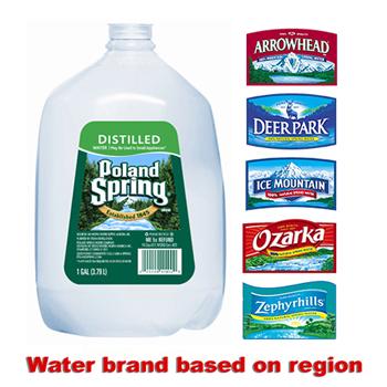 Poland Spring® 1 Gallon Distilled, 6/CS