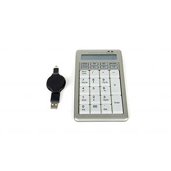 Bakker Elkhuizen S-board 840 Numeric Keypad, Cable Connectivity, USB Interface