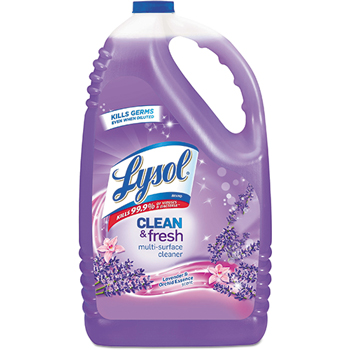 Clean & Fresh Multi-Surface Cleaner, Lavender & Orchid, 144 oz Bottle