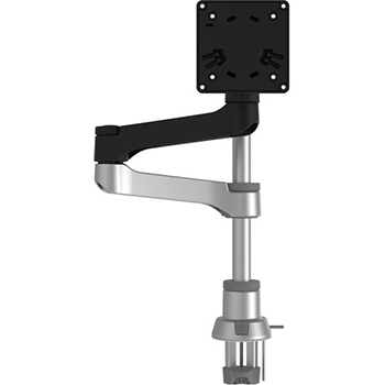 R-Go Tools Zepher C2 Circular Single Monitor Arm Desk Mount