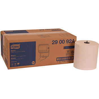 "Tork® Matic® Advanced Paper Towel Roll H1, Hand Towel, 2-Ply, 7.7"" W x 525' L, White, 6 Rolls/Case"