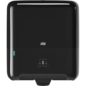 Matic® Hand Towel Roll Dispenser, H1, Refill Level Indicator, Black