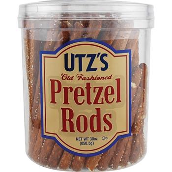Snack Tubs, Giant Pretzel Rods