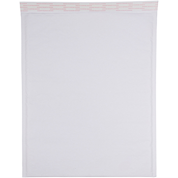 "Bubble Lite Padded Mailers, 14 1/4"" x 18 1/2"", White Kraft, 100/BX"