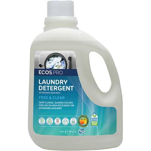 ECOS® PRO 2X Laundry Detergent, Free & Clear, 170 oz. - WB Mason