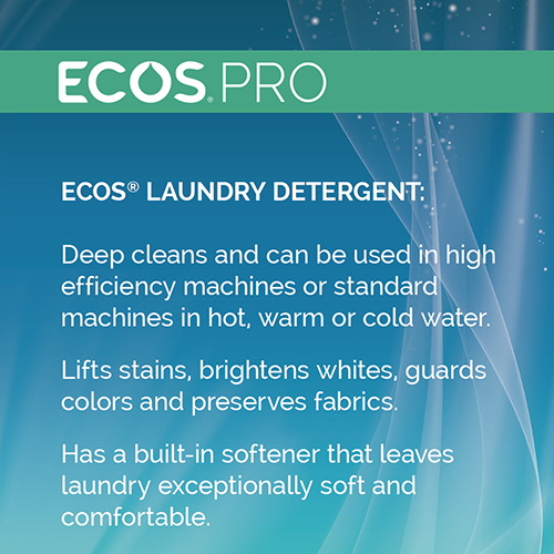 Ecos 174 Pro 2x Laundry Detergent Free Amp Clear 170 Oz Wb