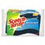 3M Scotch-Brite™ Non-Scratch Multi-Purpose Scrub Sponge, 4 2/5 x 2 3/5, Blue, 3/Pack Thumbnail 1