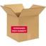 "W.B. Mason Co. Weather Resistant Corrugated boxes, V3C, 12"" x 12"" x 12"", Kraft, 20/BD Thumbnail 1"