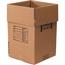 """W.B. Mason Co. Dish Pack boxes, 18"""" x 18"""" x 28"""", Kraft, 5/BD Thumbnail 1"""