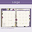 "AT-A-GLANCE® Vienna Weekly/Monthly Appointment Book, 8 1/2"" x 11"", Purple, 2021 Thumbnail 7"