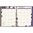 "AT-A-GLANCE® Vienna Weekly/Monthly Appointment Book, 8 1/2"" x 11"", Purple, 2021 Thumbnail 2"