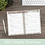 "AT-A-GLANCE® Marrakesh Desk Weekly/Monthly Planner, 5 3/4"" x 8 1/8"", 2021 Thumbnail 8"