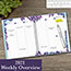 """AT-A-GLANCE® Wild Washes Weekly/Monthly Planner, 8 1/2"""" x 11"""", Floral, Animal, 2022 Thumbnail 5"""