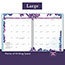 """AT-A-GLANCE® Wild Washes Weekly/Monthly Planner, 8 1/2"""" x 11"""", Floral, Animal, 2022 Thumbnail 4"""