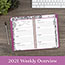 """AT-A-GLANCE® Floradoodle Desk Weekly/Monthly Planner, 6 1/2"""" x 8 7/8"""", 2022 Thumbnail 8"""