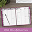 """AT-A-GLANCE® Floradoodle Professional Weekly/Monthly Planner, 9 3/8"""" x 11 3/8"""", 2021 Thumbnail 8"""
