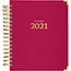 """AT-A-GLANCE® Harmony Daily Hardcover Planner, 6 7/8"""" x 8 3/4"""", Berry, 2022 Thumbnail 2"""