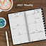 """AT-A-GLANCE® Compact Weekly Appointment Book, 3 1/4"""" x 6 1/4"""", Black, 2021 Thumbnail 6"""