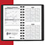 """AT-A-GLANCE® Weekly Planner, 2 1/2"""" x 4 1/2"""", Black, 2021 Thumbnail 4"""