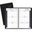 """AT-A-GLANCE® Weekly Appointment Book Ruled for Hourly Appointments, 4 7/8"""" x 8"""", Black, 2021 Thumbnail 1"""