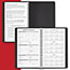 """AT-A-GLANCE® Weekly Appointment Book Ruled for Hourly Appointments, 4 7/8"""" x 8"""", Black, 2021 Thumbnail 4"""