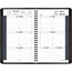 """AT-A-GLANCE® Weekly Appointment Book Ruled for Hourly Appointments, 4 7/8"""" x 8"""", Black, 2021 Thumbnail 2"""