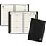 """AT-A-GLANCE® Recycled Weekly/Monthly Appointment Book, 4 7/8"""" x 8"""", Black, 2022 Thumbnail 1"""
