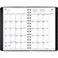"AT-A-GLANCE® Contemporary Weekly/Monthly Planner, Block, 4 7/8"" x 8"", Black Cover, 2021 Thumbnail 3"
