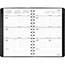 "AT-A-GLANCE® Contemporary Weekly/Monthly Planner, Block, 4 7/8"" x 8"", Black Cover, 2021 Thumbnail 2"