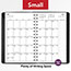 """AT-A-GLANCE® Contemporary Weekly/Monthly Planner, Block, 4 7/8"""" x 8"""", Graphite Cover, 2022 Thumbnail 8"""