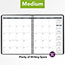 """AT-A-GLANCE® Monthly Planner, 6 7/8"""" x 8 3/4"""", Black, 2021 Thumbnail 6"""