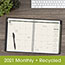 """AT-A-GLANCE® Recycled Monthly Planner, 6 7/8"""" x 8 3/4"""", Black, 2021 Thumbnail 7"""