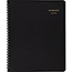 AT-A-GLANCE® Monthly Planner, 6-7/8 x 8-3/4, Black, 2021-2022 Thumbnail 1