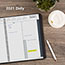 """AT-A-GLANCE® 24-Hour Daily Appointment Book, 8 1/2"""" x 11"""", White, 2021 Thumbnail 7"""
