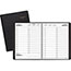 """AT-A-GLANCE® Two-Person Group Daily Appointment Book, 8"""" x 10 7/8"""", Black, 2022 Thumbnail 1"""